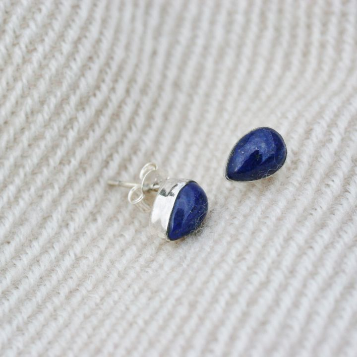 products tribe afinal silver stud artisan the earrings antique studs afina lazuli lapis